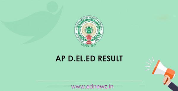AP D.El.Ed. Exam Result