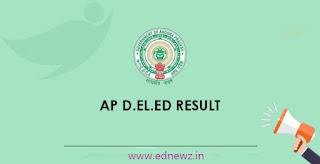 AP D.Ed/D.El.Ed (1st/2nd year) Exam Results 2021