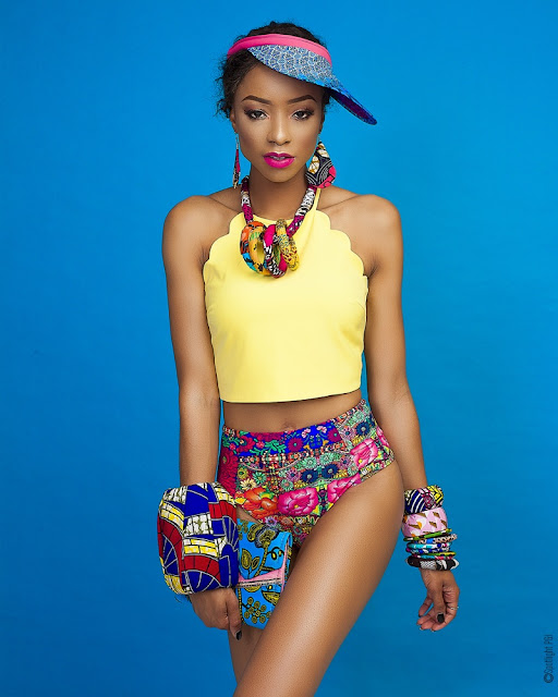 Check Out Colours, Patterns of Ankara Fusion   A Fashion Editorial Inspired by Print