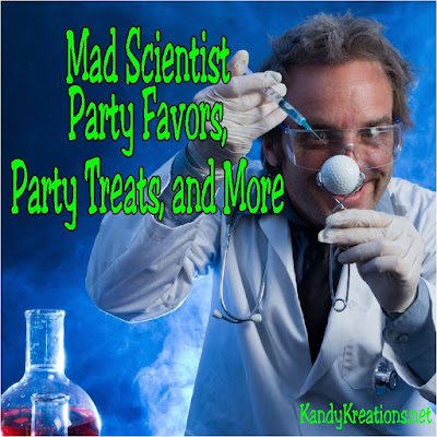 All you need to throw a Mad Halloween party with these ghoulish and crazy party decorations, party treats, party favors, and fun items. Your Mad Scientist party will be perfect for Halloween or Birthday parties.