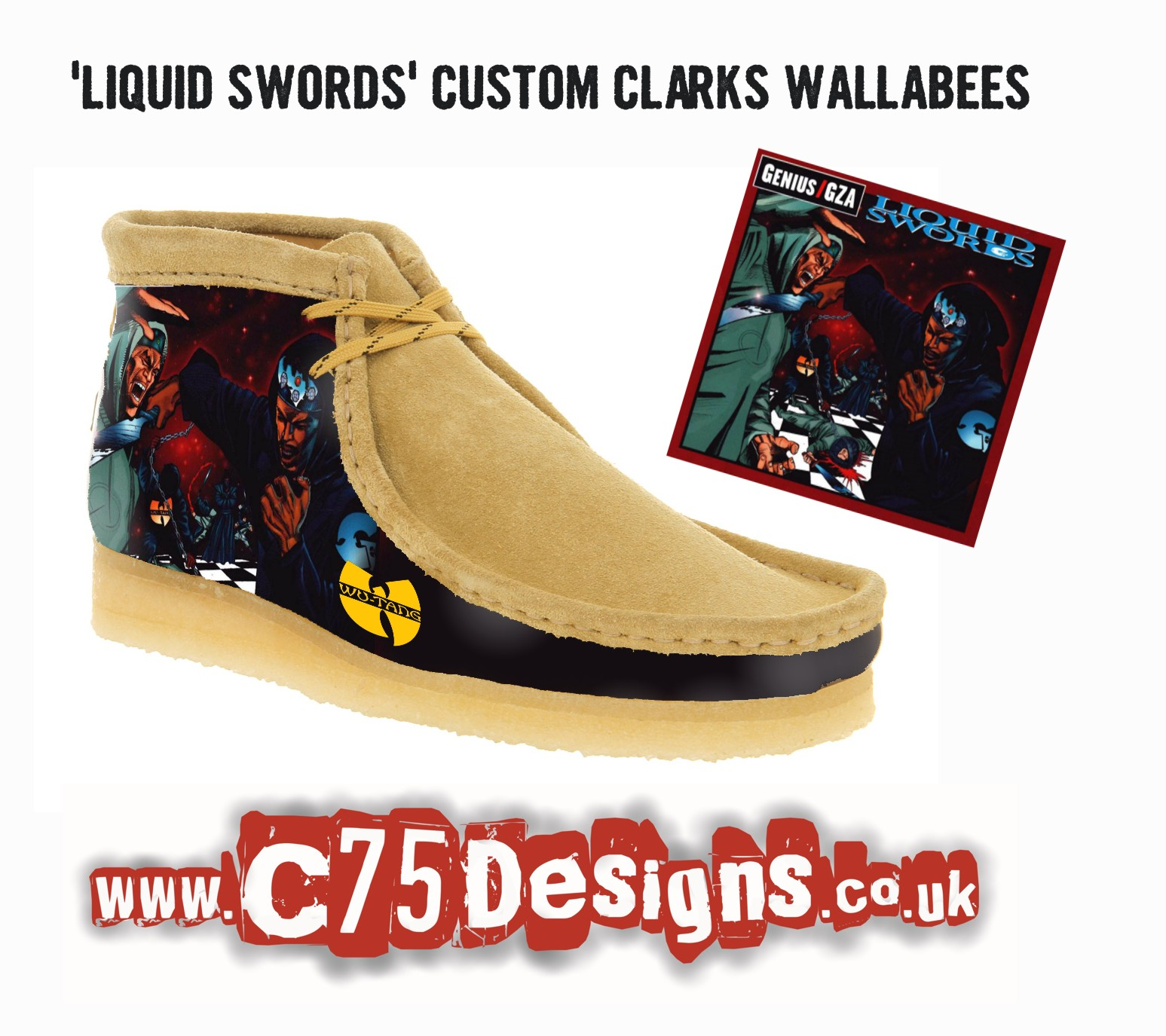 Wallabees Shoes Black Kids