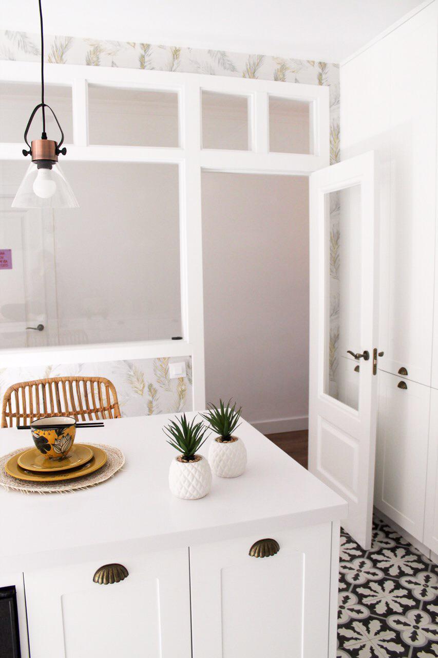 Cocina blanca diseño Cocochic