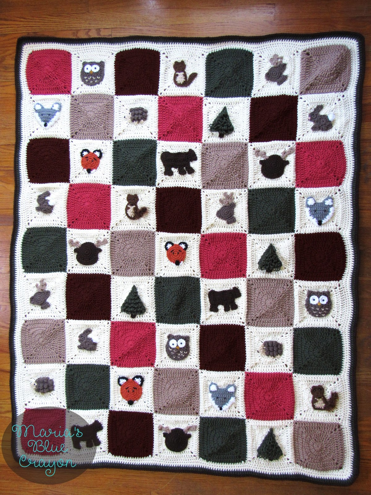 Granny Square Afghan Pattern Interesting Inspiration