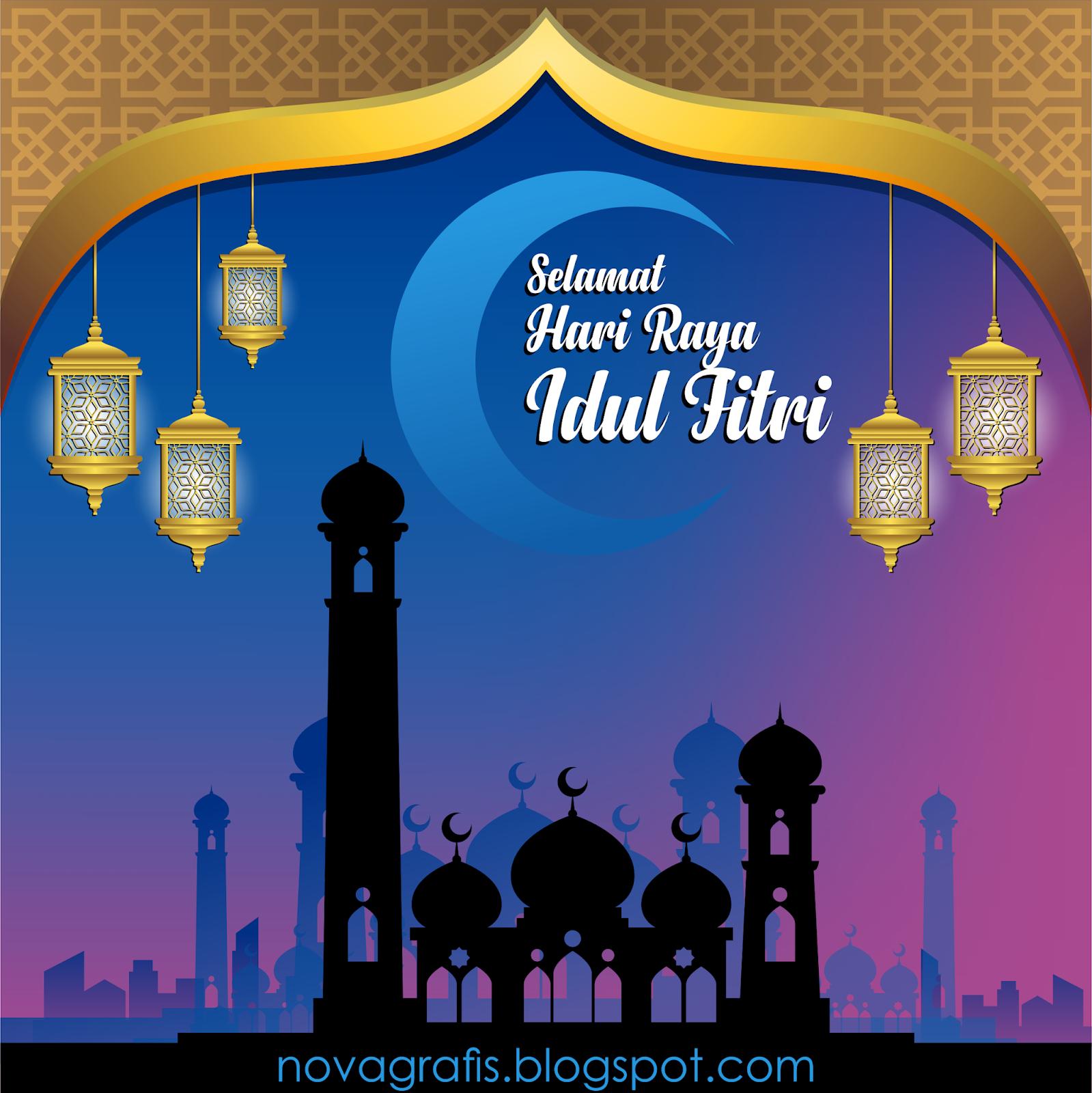 Spanduk Hari Raya Idul Fitri