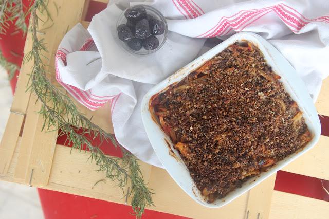 Cuillère et saladier : Gratin de fenouil à l'italienne (vegan)