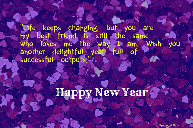 New Year 2020 Greetings Card