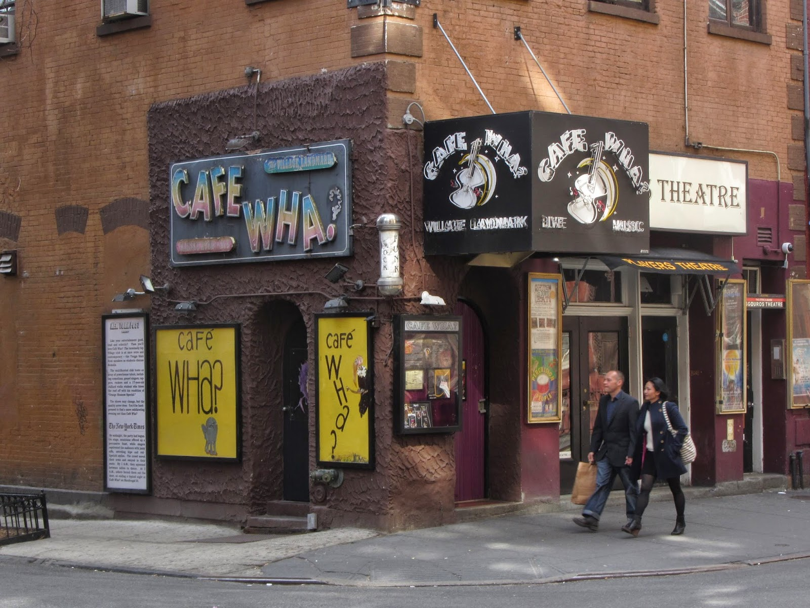 cafe wha new york