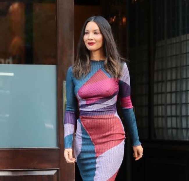 Olivia Munn – Leaving Her Hotel in New York City