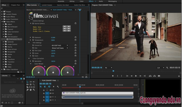 Download FilmConvert Nitrate 3.0.2 for After Effects & Premiere Pro