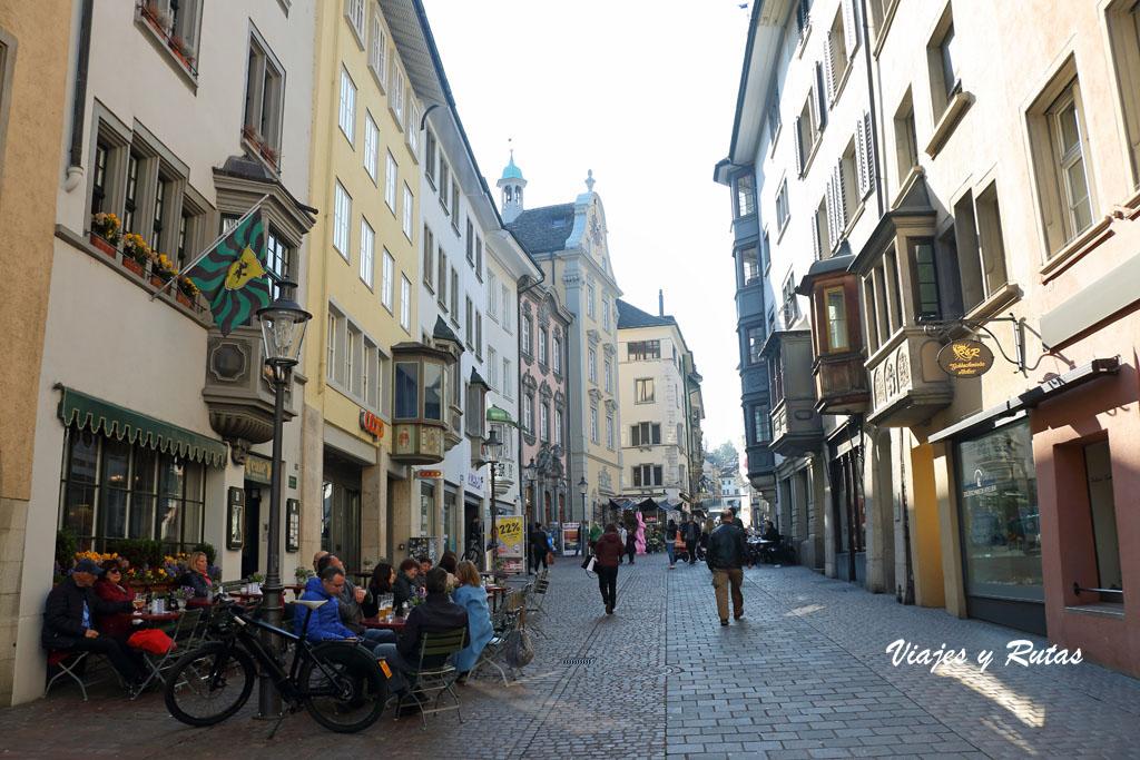Calle Vorstadt de Schaffhausen