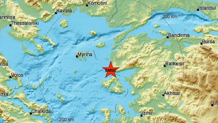 Σεισμός 4,7 Ρίχτερ στα παράλια της Τουρκίας