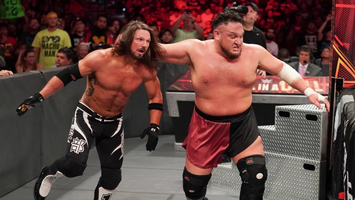 AJ Styles afirma que Samoa Joe o enforcou de verdade com o Coquina Clutch