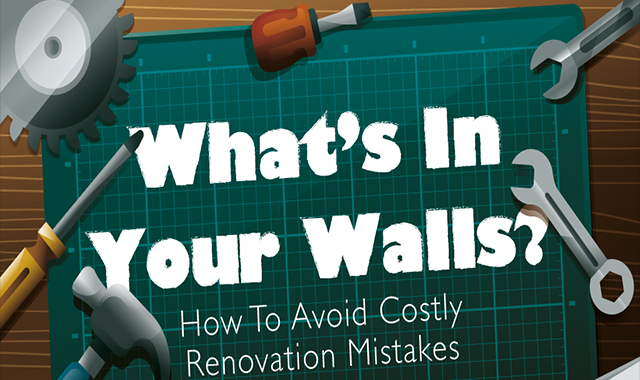 What's inside the walls? #infographic