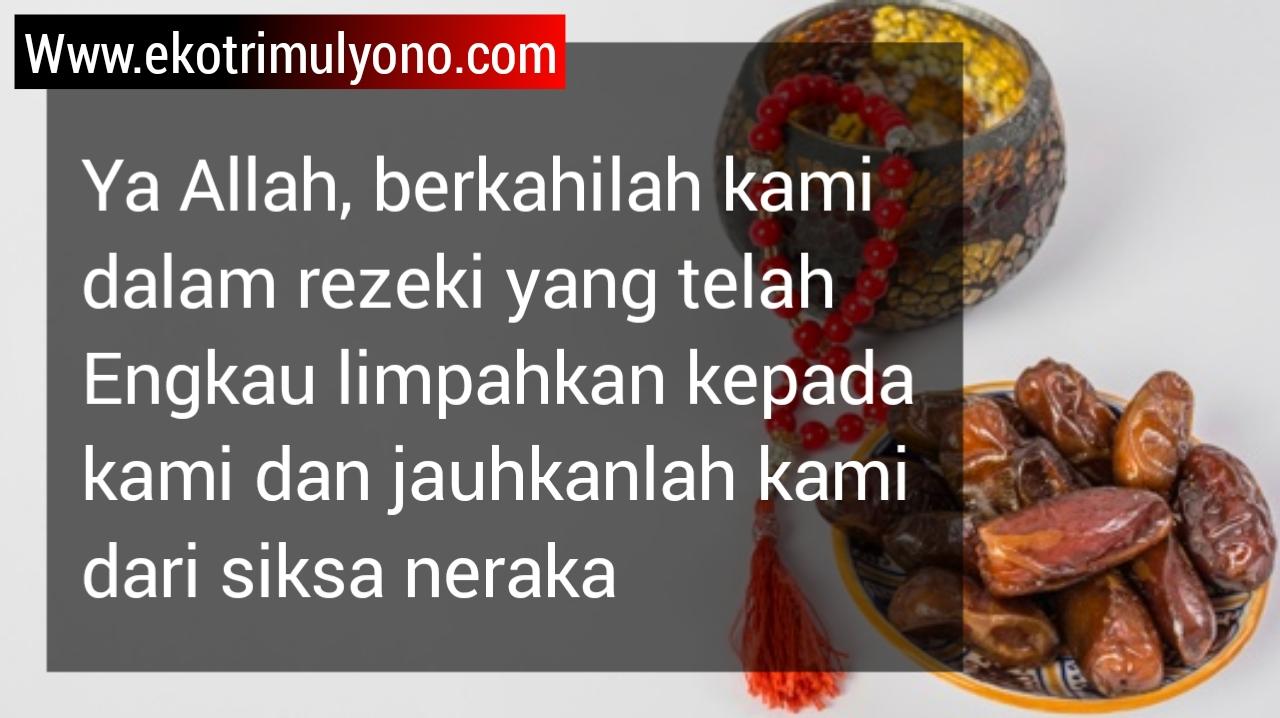 arti doa sebelum makan per kalimat