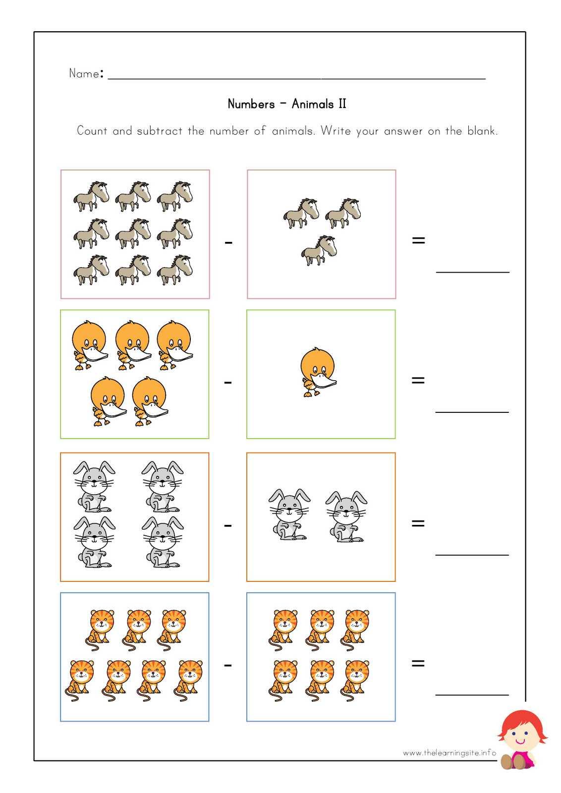 animal worksheet: April 2015 [ 1600 x 1132 Pixel ]
