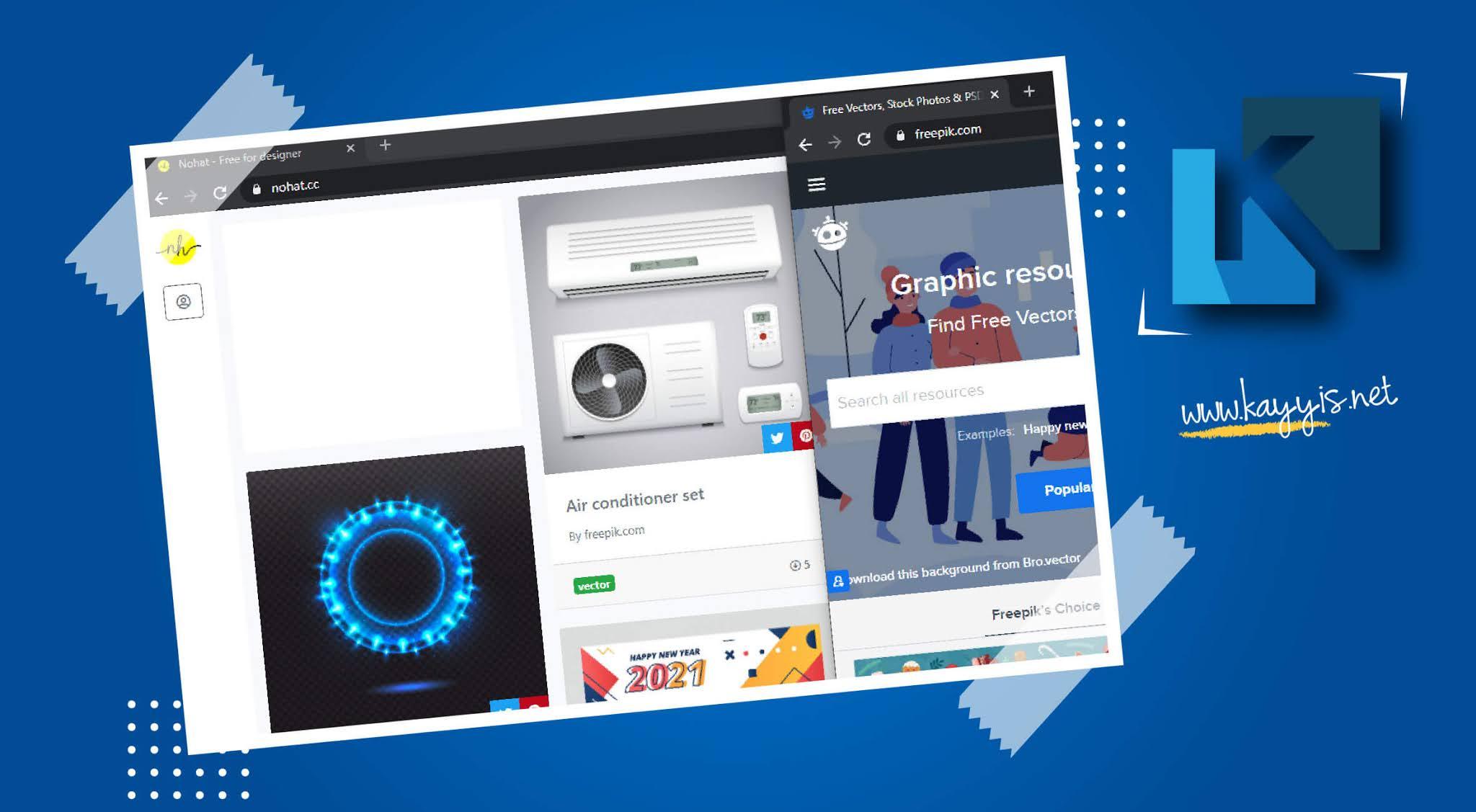 Kumpulan Situs Penyedia Vector Gratis untuk keperluan Desain Grafis