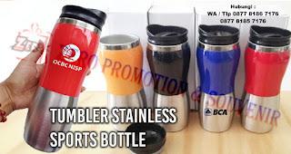 Botol air minum Tumbler merupakan hadiah yang bisa kalian berikan saat sahabat kalian ulang tahun