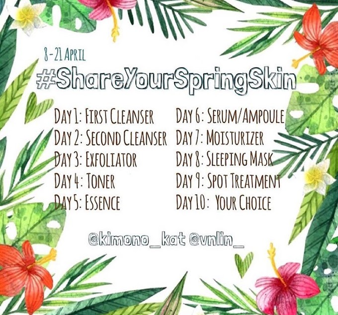 CABARAN #SHAREYOURSPRINGSKIN | DAY 1: FIRST CLEANSER