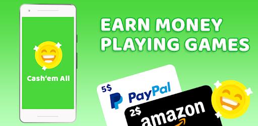 Cash'em All, App para ganar dinero jugando en tu móvil