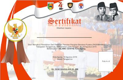 Download Piagam dan Sertifikat Penghargaan Hari Kemerdekaan RI