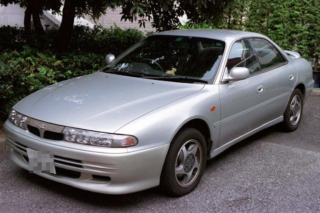 Mitsubishi Emeraude, unikalne auta, JDM
