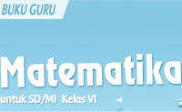 Download Buku Guru Matematika Kurikulum 13 Kelas 6 SD/MI