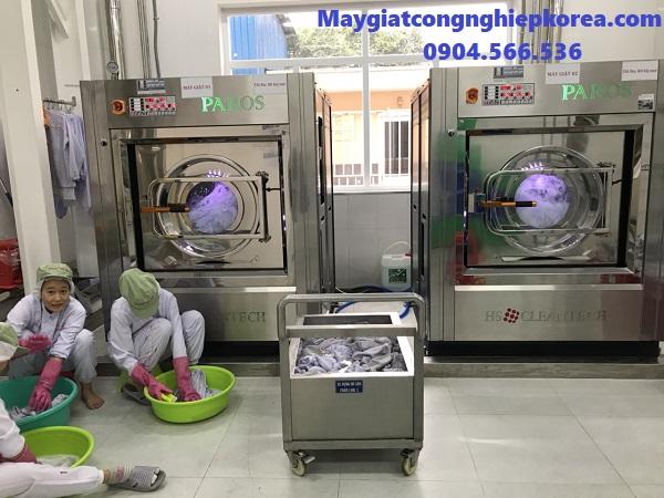Đơn vị bán máy giặt công nghiệp cho bệnh viện ở Bắc Ninh