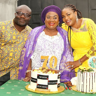 Nolly Actress, Olanrewaju Hassan Celebrates 70th Birthday (PHOTOS)