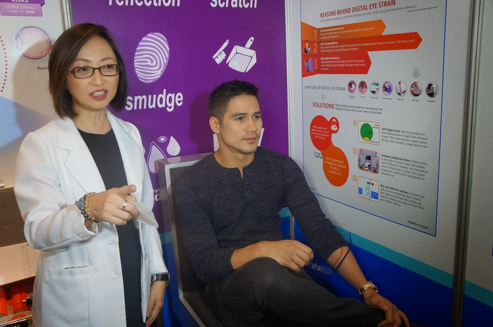 5b6972b4d Piolo Pascual is Essilor Brand Ambassador Campaigning for Healthy Vision