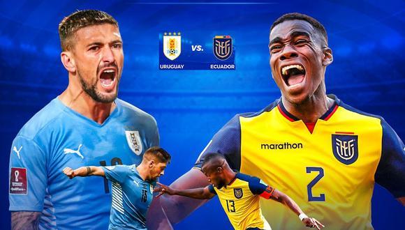 Ecuador – Uruguay en vivo: ver el el partido de hoy