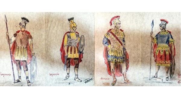 Armaos romanos para Sentencia de Cádiz