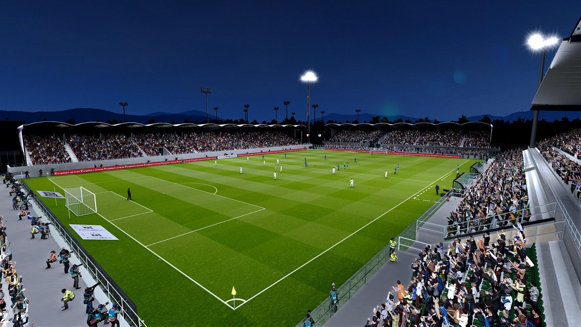 PES 2021 Stade de Tourbillon by TheSpecialOne