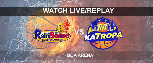 List of Replay Videos TNT vs ROS September 27, 2017 @ MOA Arena