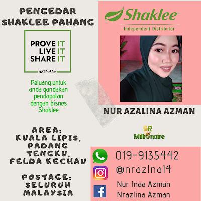 Pengedar Shaklee Padang Tengku
