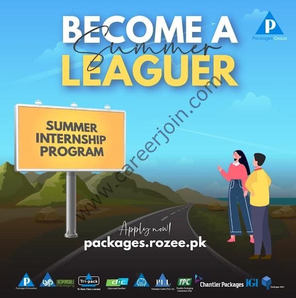Packages Group Summer Internship Program may & June 2021