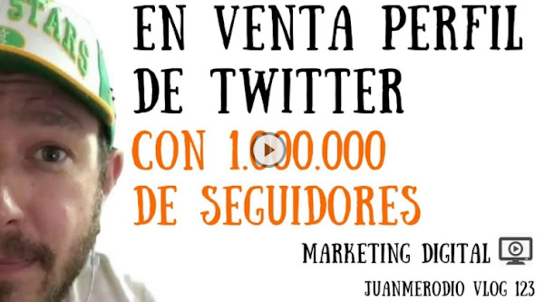 Vendo perfil de Twitter con 1 Millón de Seguidores