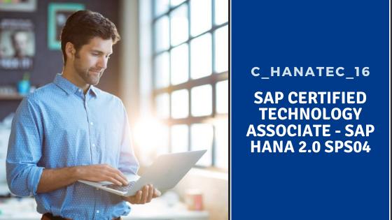 SAP HANA C_HANATEC_16, SAP HANA C_HANATEC_16 certification
