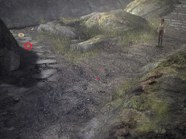 путь в пещеру по которому идет кейт в игре сибирь