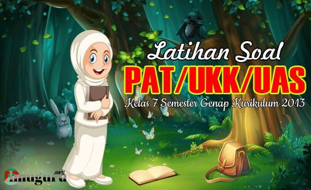 Latihan Soal Pat Bahasa Sunda Kelas 7 Smp Tahun 2021