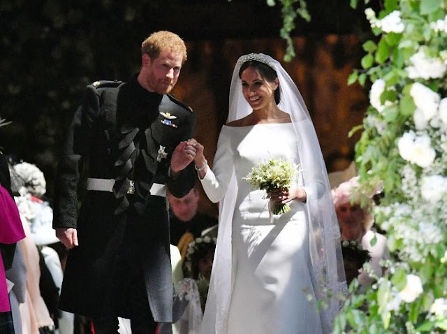 Pangeran Harry dan Meghan Markle Dicopot Gelar Kerajaannya