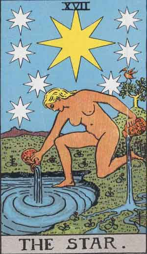 The Star, tarot