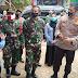 Dandim 0824/Jember Bersama Kapolres Jember, Patroli Penegakkan Disiplin Protokol Kesehatan Covid 19 Di Pasar Rambipuji