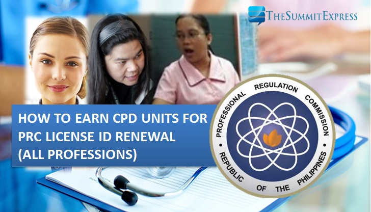 How to earn CPD units for PRC license renewal (All Professions)