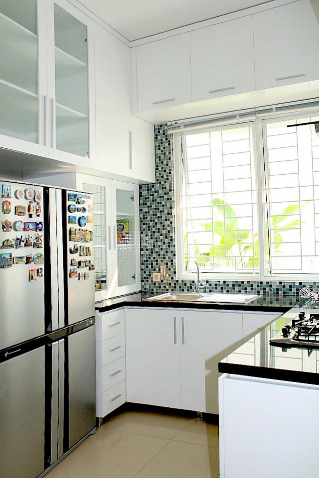 Contoh kitchen set dapur basah minimalis