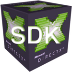 DirectX SDK logo, icon, free download- To Create DirectX Compliant Applications in C/C++ And C#