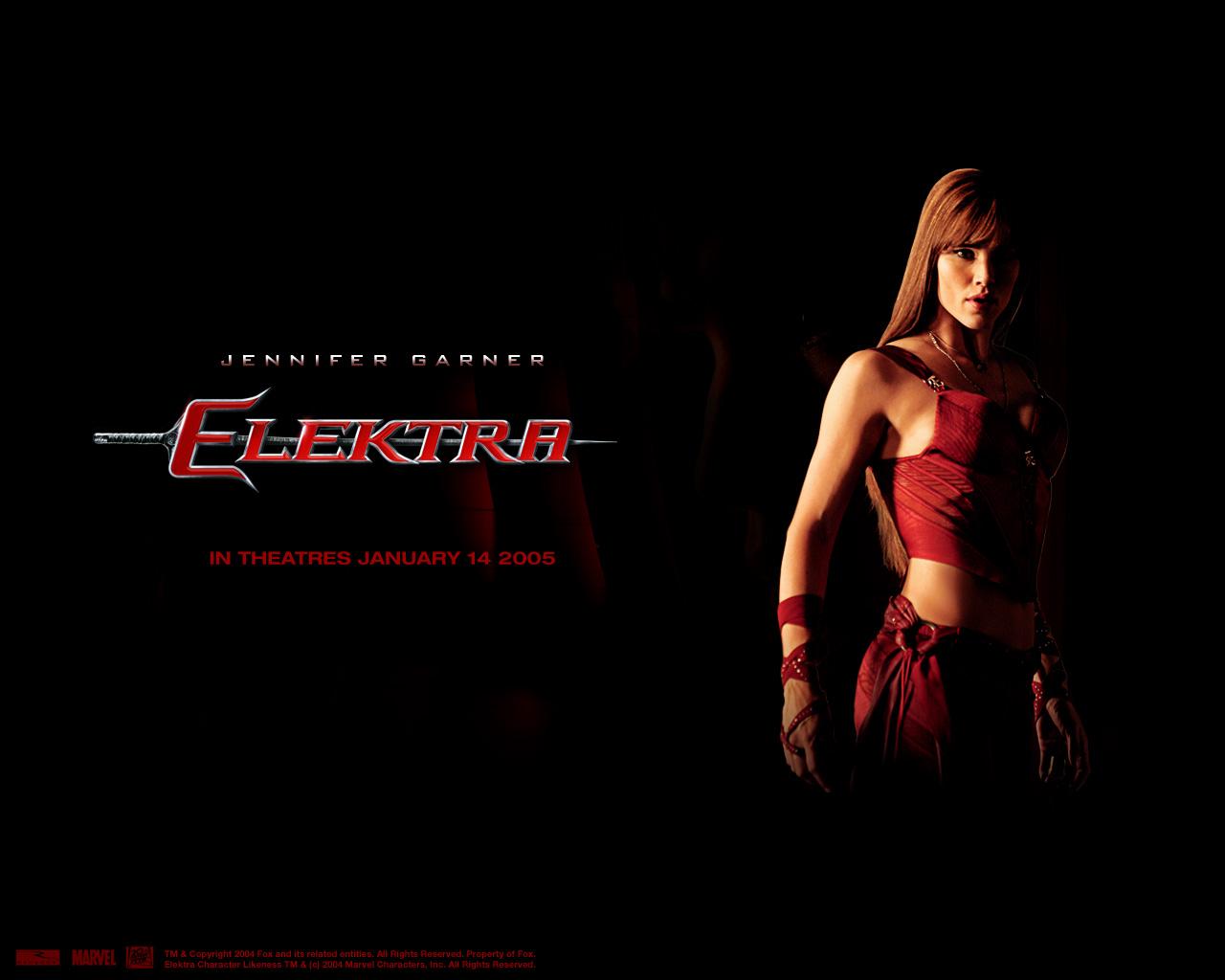 Just Walls: Elektra Movie Character Wallpaper