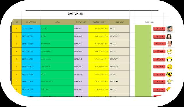 Download File Aplikasi Cetak Kartu NISN Terbaru Gratis