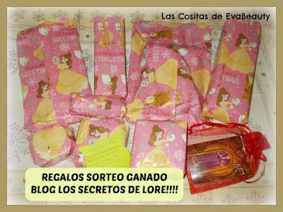 Sorteo Ganado en el Blog Los Secretos de Lore!!!!