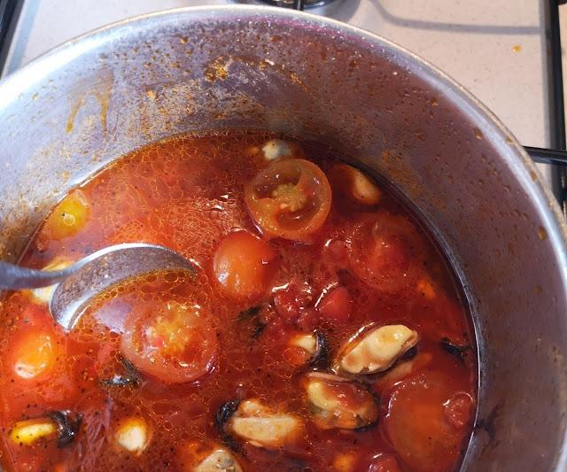 pomodori e cozze