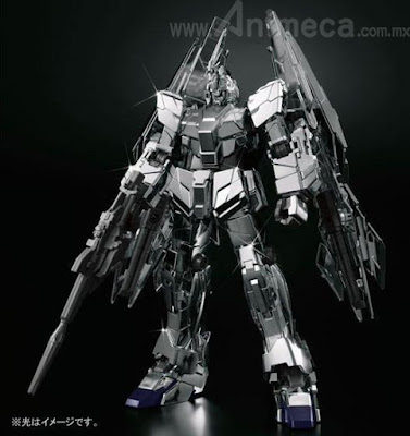 Unicorn Gundam 03 Phenex type RC (Unicorn Mode) Silver Coating Ver. HGUC 1/144 Model Kit Mobile Suit Gundam Unicorn